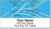 Ocean Fish Address Labels