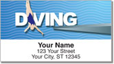 Diving Address Labels