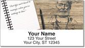 Ernest Hemingway Address Labels