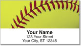 Classic Softball Address Labels