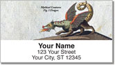 Mythical Beast Address Labels