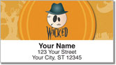 Halloween Thesaurus Address Labels