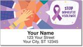 Domestic Violence Awareness Address Labels