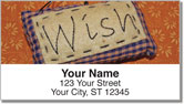 Words in Stitch Address Labels
