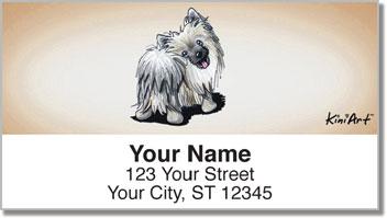 Pom KiniArt Series Address Labels