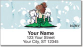 Sugar and Spice Address Labels by Kim Niles of KiniArt