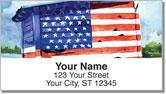 Americana Painting Address Labels