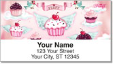Cupcake Heaven Address Labels