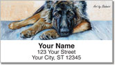 Shahmiri Dogs Address Labels