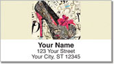 High Heel Address Labels