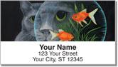 Contemplating Cats 1 Address Labels