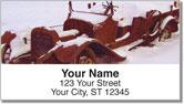 Bulone Car Address Labels