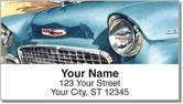 Classic Chrome Address Labels