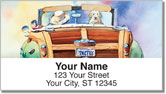 Doggies on Board Address Labels