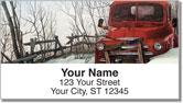 Abandoned Vehicle Address Labels