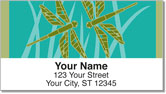 Lindgren Dragonfly Address Labels