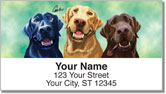 Labrador Retriever Address Labels