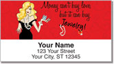 Classic Working Girl Address Labels