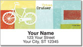 Bike Art Address Labels