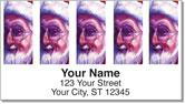 Grissom Christmas Address Labels