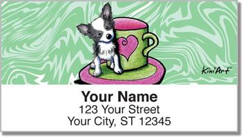 Chihuahua KiniArt Series 2 Address Labels