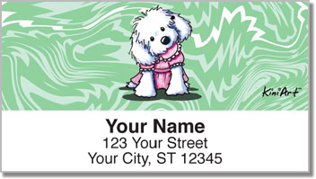 Maltese KiniArt Series 1 Address Labels