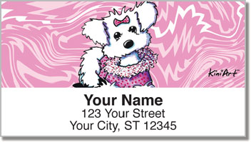 Maltese KiniArt Series 2 Address Labels
