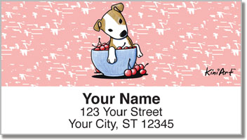 PitBull KiniArt Series Address Labels