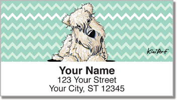 Wheaten Terrier KiniArt Series Address Labels