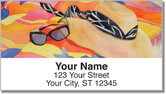Just Beachy Address Labels