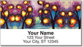 Trees Afire Address Labels