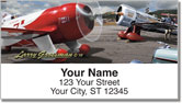 Grossman Airplane Address Labels