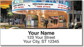 Movie Palace Address Labels