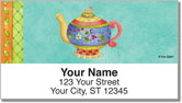 Zipkin Tea Address Labels