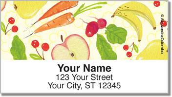 Organic Market  Address Labels