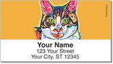 Evans Cat Address Labels