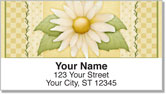 Anderson Daisy Address Labels