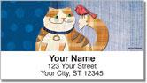 Fat Cat Address Labels