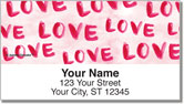 Love Lasts Address Labels