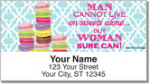 Sweet Treats Address Labels