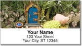 Miniature Fairy Garden Address Labels