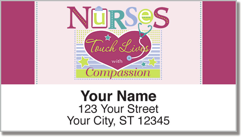 Linn Nurse Return Address Labels