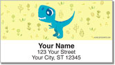 Dino Address Labels