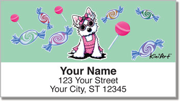 Miss Olivia Address Labels
