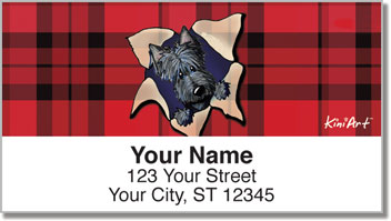 Scotties KiniArt Series 2 Address Labels