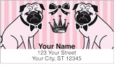 Doggy Boudoir Address Labels