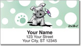 Schnauzer Address Labels