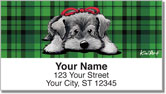 Schnauzer - Christmas Address Labels