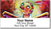 Curious Critters Address Labels