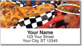 Kitchen Art Address Labels